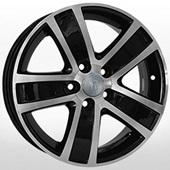 Автомобильный колесный диск R15 5*100 VV73 BKF (Volkswagen) - W6.0 Et40 D57.1