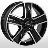 Автомобильный колесный диск R16 5*120 VW-5625 BP (Volkswagen) - W6.5 Et51 D65.1