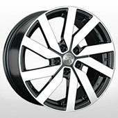 Автомобильный колесный диск R16 5*112 VV151 BKF (Volkswagen) - W6.5 Et50 D57.1