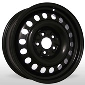 Автомобильный колесный диск R17 5*100 Trebl-X40019 B - W7.0 Et48 D56.1
