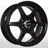 Автомобильный колесный диск R15 4*98 YA-1800 BLK-S - W6.5 Et38 D67.1