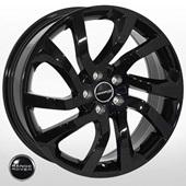 Автомобильный колесный диск R19 5*108 ZF-137 BLACK (Land Rover) - W8.0 Et45 D63.4