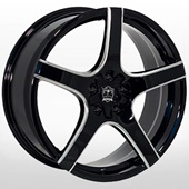 Автомобильный колесный диск R20 5*112 / 5*114,3 ZF-410BM B+M - W10.0 Et40 D73.1