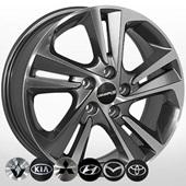 Автомобильный колесный диск R17 5*114,3 ZF-5258 GMF - W7.0 Et48 D67.1