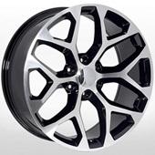 Автомобильный колесный диск R20 6*139,7 ZF-6701 BLACK - W9.0 Et31 D78.1