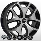 Автомобильный колесный диск R17 5*114,3 ZF-FE137 BMF - W6.5 Et40 D67.1