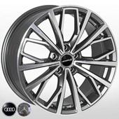 Автомобильный колесный диск R17 5*112 FE186 GMF (Audi, Mercedes) - W7.0 Et42 D66.6