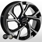 Автомобильный колесный диск R16 5*114,3 ZF-FE197 BMF (Toyota, Suzuki) - W6.5 Et45 D60.1