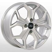 Автомобильный колесный диск R16 4*108 ZF-FR393 S (Ford) - W6.5 Et37 D63.4