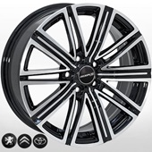 Автомобильный колесный диск R17 5*108 ZF-FR769 BMF - W7.0 Et45 D65.1