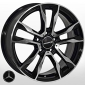 Автомобильный колесный диск R17 5*112 ZF-FR778 BMF (Mercedes) - W7.0 Et45 D66.6