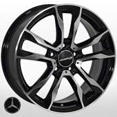 Автомобильный колесный диск R16 5*112 ZF-FR778 BMF (Mercedes) - W6.5 Et45 D66.6