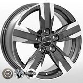 Автомобильный колесный диск R16 5*114,3 ZF-FR784 GMF - W6.5 Et40 D67.1