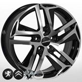 Автомобильный колесный диск R17 5*108 ZF-FR876 BMF (Citroen, Peugeot) - W7.0 Et46 D65.1