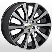 Автомобильный колесный диск R21 5*120 ZF-FR913 MBF (Land Rover) - W9.5 Et53 D72.6