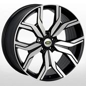 Автомобильный колесный диск R19 5*108 ZF-FR995 MBF (Land Rover) - W8.0 Et45 D63.4