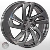 Автомобильный колесный диск R17 5*114,3 ZF-LX517 GMF (Lexus, Toyota) - W7.0 Et35 D60.1