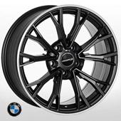 Автомобильный колесный диск R17 5*120 ZF-QC1197 MBL (BMW) - W8.0 Et30 D72.6