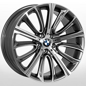 Автомобильный колесный диск R19 5*112 ZF-QC1200 GMF (Audi, BMW) - W8.5 Et25 D66.6
