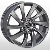 Автомобильный колесный диск R17 5*112 ZF-SK523 GMF (Skoda, VW) - W7.0 Et45 D57.1