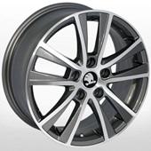 Автомобильный колесный диск R16 5*112 ZF-SSL480 GP (Audi, Skoda, VW) - W6.5 Et42 D57.1