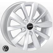 Автомобильный колесный диск R16 5*112 SK-0030 S (Skoda, Seat, VW) - W6.5 Et46 D57.1