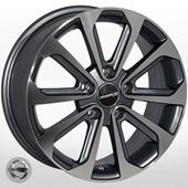 Автомобильный колесный диск R16 5*114,3 ZF-TL0210 GMF (Nissan, Renault) - W6.5 Et40 D66.1