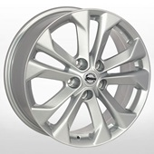 Автомобильный колесный диск R17 5*114,3 ZF-TL0264N S (Nissan) - W7.0 Et45 D66.1