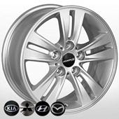 Автомобильный колесный диск R16 5*114,3 ZF-TL0279NW S - W7.0 Et41 D67.1
