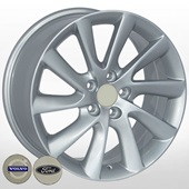 Автомобильный колесный диск R17 5*108 ZF-TL0281NW S (Ford, Volvo) - W8.0 Et55 D63.4
