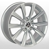 Автомобильный колесный диск R17 5*112 ZF-TL0285NW S (Audi, Skoda, VW) - W7.0 Et43 D57.1