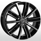 Автомобильный колесный диск R18 5*112 ZF-TL0287NW BMF (Audi, Skoda, VW) - W7.0 Et43 D57.1