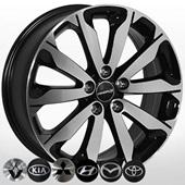 Автомобильный колесный диск R18 5*114,3 ZF-TL0423 MBF - W7.0 Et45 D67.1