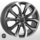 Автомобильный колесный диск R18 5*112 ZF-TL0450ND GMF (Audi) - W8.0 Et39 D66.6