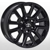 Автомобильный колесный диск R17 6*139,7 TY-1057NW BLACK (Toyota) - W7.5 Et25 D106.1