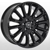 Автомобильный колесный диск R21 5*120 LR-1326 BLACK (Land Rover) - W9.5 Et49 D72.6