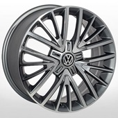 Автомобильный колесный диск R17 5*112 ZF-TL1356NW GMF (Audi, Skoda, VW) - W7.5 Et50 D57.1
