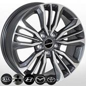 Автомобильный колесный диск R17 5*114,3 TL1441NW DarkGMF - W6.5 Et45 D67.1