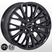 Автомобильный колесный диск R18 5*114,3 TY-1515 BLACK (Toyota, Lexus) - W8.0 Et50 D60.1