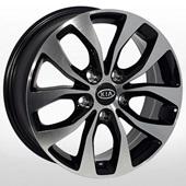 Автомобильный колесный диск R16 5*114,3 ZF-TL5609 BMF (Kia, Hyundai) - W6.5 Et42 D67.1
