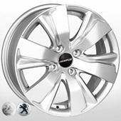 Автомобильный колесный диск R16 4*108 PG-6242N S (Peugeot, Citroen) - W6.5 Et30 D65.1
