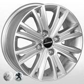 Автомобильный колесный диск R15 4*108 ZF-TL8185 S (Peugeot, Citroen) - W6.0 Et27 D65.1