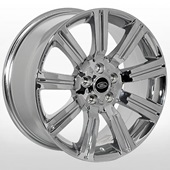 Автомобильный колесный диск R20 5*120 ZF-TL9002 Chrome (Land Rover) - W9.5 Et50 D72.6