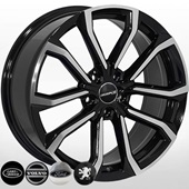 Автомобильный колесный диск R19 5*108 V-515 BMF (Volvo, Ford, LR) - W8.0 Et42 D63.4
