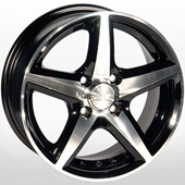 Автомобильный колесный диск R15 5*114,3 ZW-244 BP - W6.5 Et35 D67.1