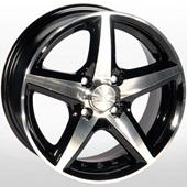 Автомобильный колесный диск R14 4*114,3 ZW-244 BP - W6 Et38 D67.1