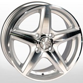 Автомобильный колесный диск R14 4*100 ZW-244 SP - W6 Et38 D67.1