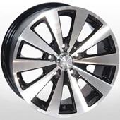Автомобильный колесный диск R15 5*112 ZW-252 BP - W6.5 Et40 D66.6