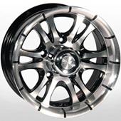 Автомобильный колесный диск R14 5*139,7 ZW-268 BP - W7 Et0 D108.1
