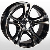 Автомобильный колесный диск R16 5*139,7 ZW-269 BP - W8.0 Et0 D110.5